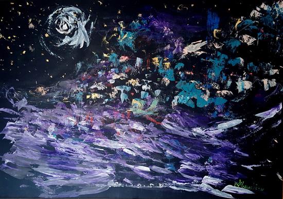 Lipari di notte Lidia Monachino - Copia